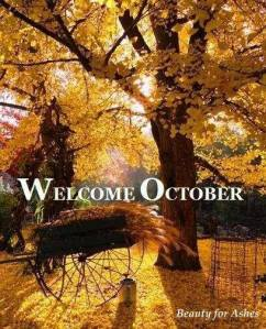 welcome october